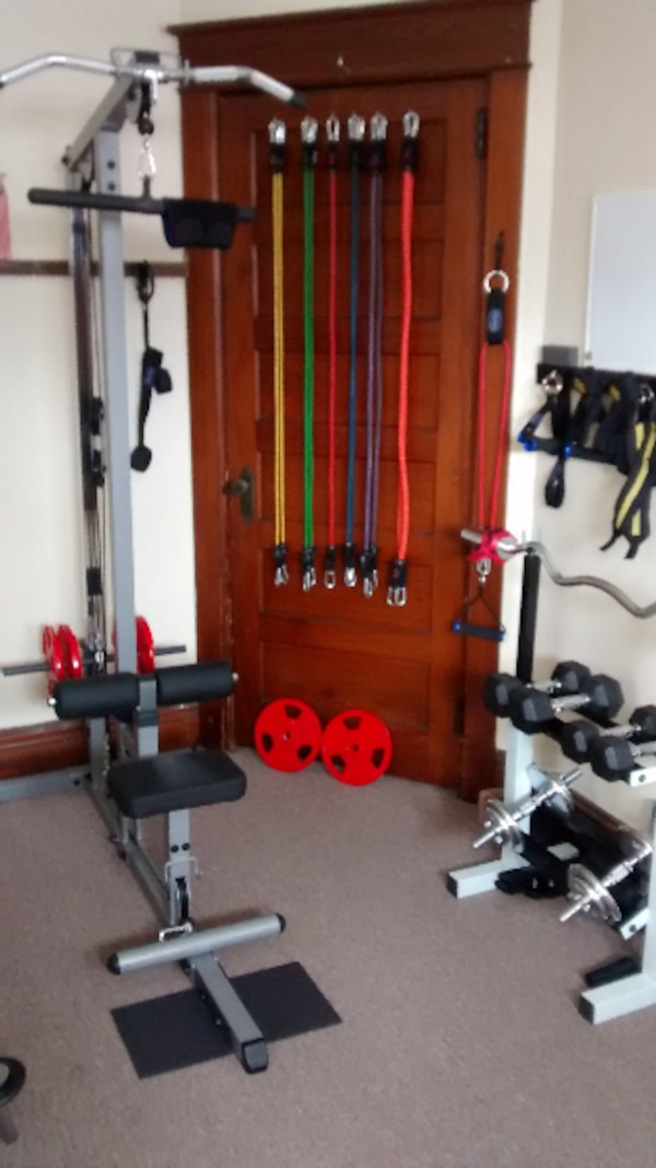 Used Weight lifting equipment. for sale in NEWYORK - letgo 89a560155