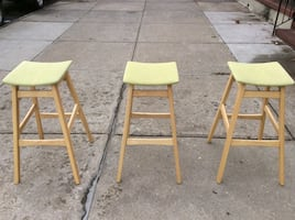Noble House Home Furnishing Green Top stool $75 each