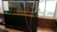 220 gallon fish tank with canopy e stand  Staten Island, 10314