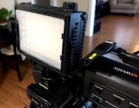 LitePaneks LP-Micro Pro Hybrid On-Camera Light - Can run on AA batts, Dimmer, 50w equivalent Los Angeles, 90038