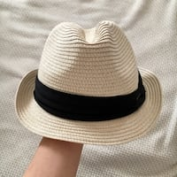 'Straw' Vacation Fedora One Size Vaughan