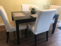 BRAND NEW IKEA DINNING ROOM SET WITH EXTENSION AND 4 CHAIRS  Toronto, M1K 3E8