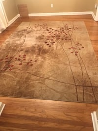 """Area rugs (2).  Somerset collection. Nourison.  7' 9"""". X. 10' 10"""".   PFSF. Springfield, 19064"""
