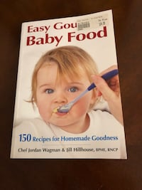 Book: Easy Gourmet Baby Food Innisfil, L0L