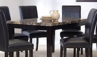 Marble table with 4 chairs Kitchener, N2M 3R9
