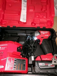 Never used Milwaukee hex 1/4 inch impact driver