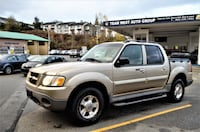 Team West Auto Group 2003 Ford Explorer Sport Trac XLT Premium 4WD Local One owner Only 89k Coquitlam