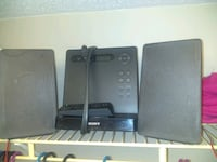 Sony Radio/mp3 Player w/ 2 Sony speakers and remote