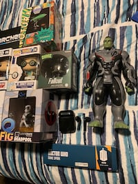Misc collectible comic figures