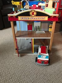 Firehouse with accessories