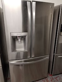stainless steel french door refrigerator San Antonio, 78217