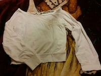 White long sleeve (see through on back) Turlock, 95380