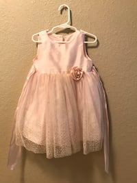 24 mo pink sparkly dress Brownsville