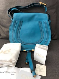 blue and black leather crossbody bag Millbrae, 94030