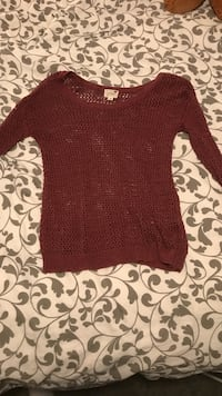 Medium pacsun knit long sleeve shirt