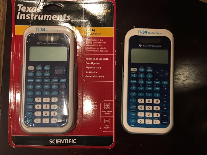 Texas Instruments TI-34 MultiView Calculator 0