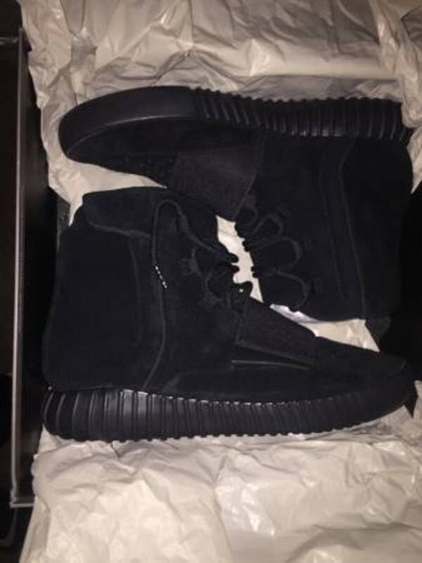 cfdecdbd1 Used Yeezy boost 750 black high top boots UA !! for sale in Santa ...