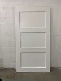 "Sliding Barn Door - 44"" x 83"" - 3 Panel Shaker Style Gaithersburg, 20877"