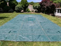 16x30ft in ground pool cover with locking springs New Windsor, 12553