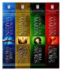 First 4 Books of Game of Thrones Arlington, 22202