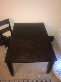 Steardy REAL Wood Table w| 4 Chairs Rockville, 20850