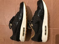 Nike air max 1 woven black leopard size 10 Burnaby, V5E 2Y9