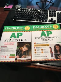 Ap stat and ap env sci Barron books  Alpharetta, 30022