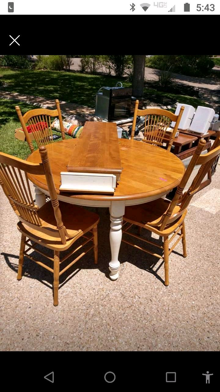 used dining table and chairs for sale in austin letgo rh gb letgo com
