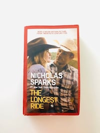 The Longest Ride -  Nicholas sparks book Vancouver, V6G 1Y5