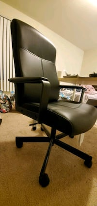 IKEA Leather Office Comfy Chair
