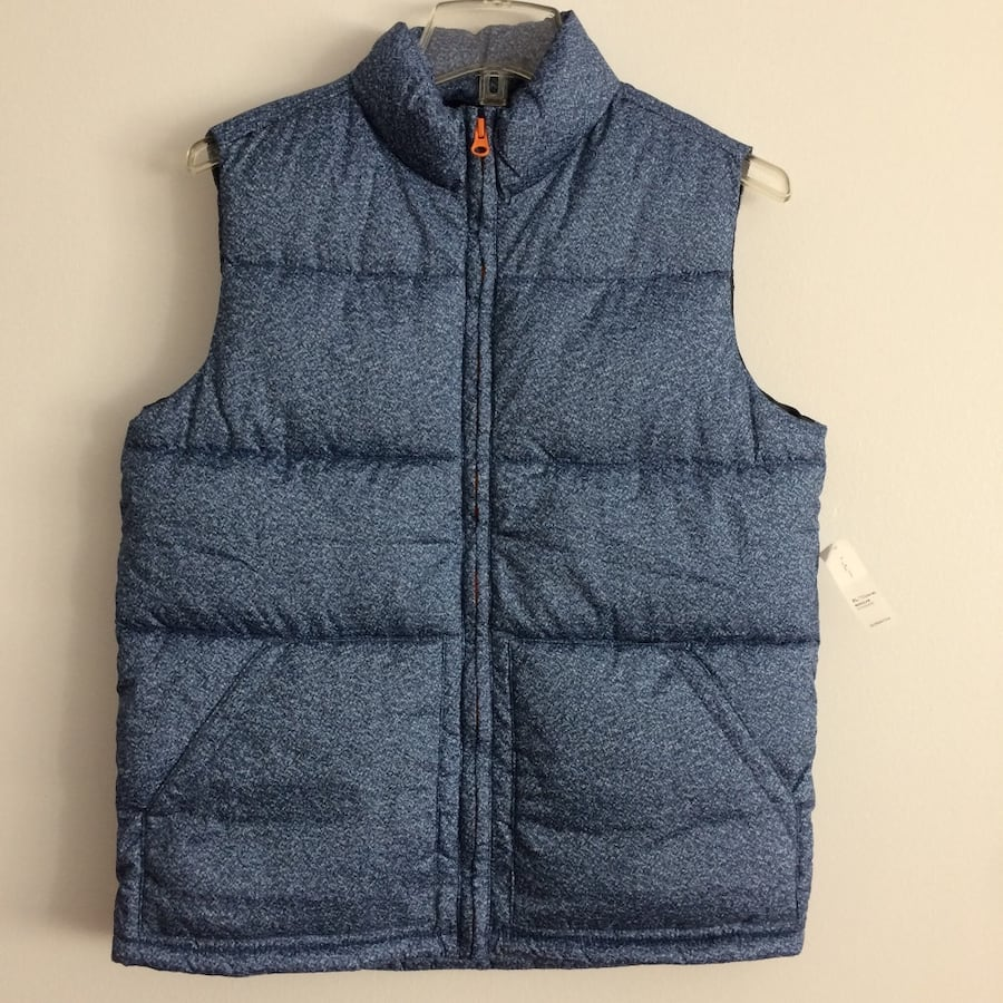 NWT boys xl (14-16) quilted vest