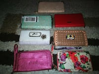 NEW AND LIKE NEW BRAND NAME WOMEN'S WALLET Waterloo, N2J 4L8