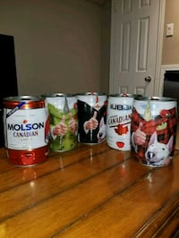 Bubba cans and original six hockey team bottles Saint Thomas