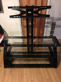 black glass TV stand with mount Denver, 80205