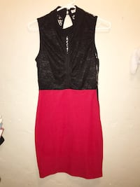Women's black and red dress Los Angeles, 90012