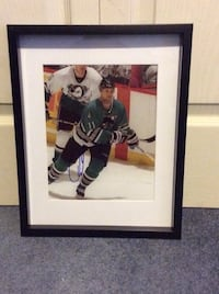 Owen Nolan signed and framed photo  Châteauguay, J6K 2M7