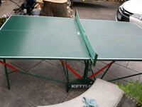 Kettler ping pong table Mississauga, L5L 1L8
