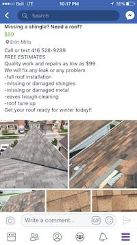 QUALITY ROOF REPAIRS  530 km