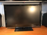 Black vizio flat screen tv Strathroy-Caradoc, N0L