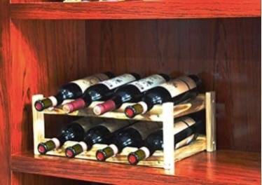 Photo Brand New Seal In Box Wine Racks Pine 8 Bottle,Small Wooden Wine Rack,
