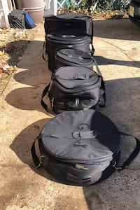 5 piece Padded drum case set by Groove Percussion(Best Offer)