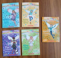 Scholastic -5 Rainbow Magic Books-by Daisy Meadows Calgary, T3J 3J7