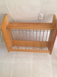 Wooden shelf with clothes and keys hanging Derwood, 20855