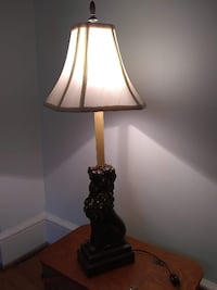 EXCELLENT CONDITION Lion Lamp Charlottesville