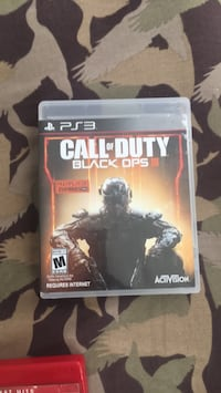 PS3 call of duty black ops 3 game case Washington, 20010
