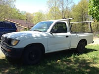 White 1996 Toyota Tacoma  2.4L DLX  MT Regular Cab 2wd manual pickup truck Harpers Ferry, 25425