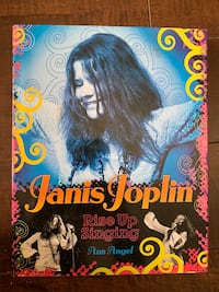 Janis Joplin Rise Up Singing Book by Ann Angel Los Alamitos, 90720