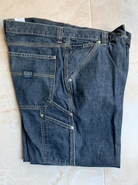 """NEW Carpenter & cargo pants, Eddie Bauer and Columbia, 38"""" Fountain Valley, 92708"""