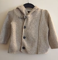 Baby's cardigan, high quality and of course price is negotiable!!! Edmonton, T6G 1R4