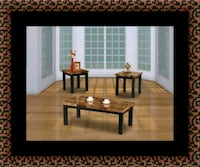 3pc marble coffee table 47 km